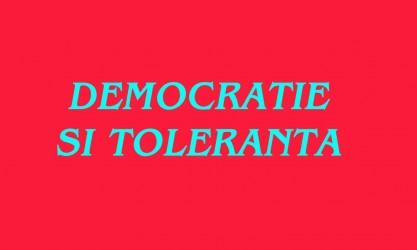 """În premieră: Concursul naţional """"Democraţie şi toleranţă"""", organizat la Zalău"""