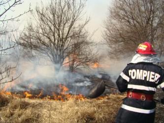 """""""Au explodat"""" incendiile pe terenurile Sălajului!"""