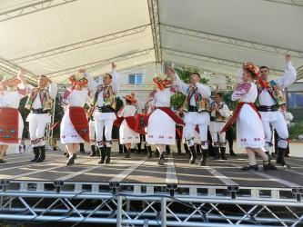 """Ansamblul """"Meseşul"""", la Zilele municipiului Bistriţa şi la Festivalul Dansului şi Cântecului Codrenesc"""