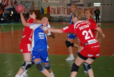 În turul trei al Cupei EHF, adversar din Spania sau Islanda pentru HC Zalău