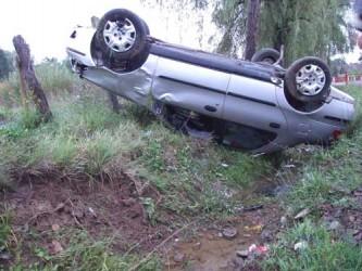Şofer încarcerat în urma unui accident rutier