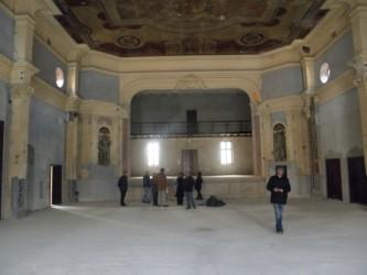 Clădirea Transilvania, în plin şantier