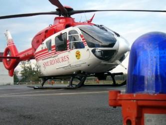 Copil dus de urgenţă cu elicopterul SMURD la Bucureşti