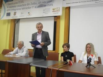 Corina Forţ, noul director al Casei Corpului Didactic Sălaj