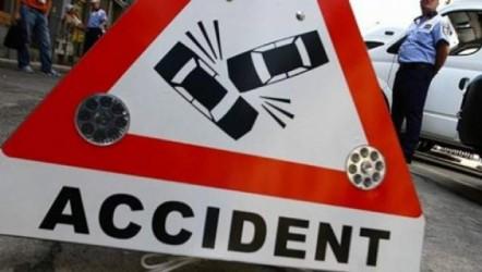 Doi răniţi într-un accident, la Zalău