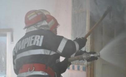 Incendiu la sediul Poliţiei Rutiere