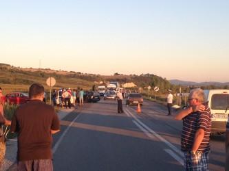 Şase membri ai unei familii, răniţi într-un accident rutier