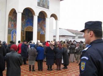 Jandarmii sălăjeni, de pază la lăcaşurile de cult