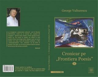 """O nouă carte la Editura """"Caiete Silvane"""": """"Cronicar pe """"Frontiera Poesis"""" (II)"""""""