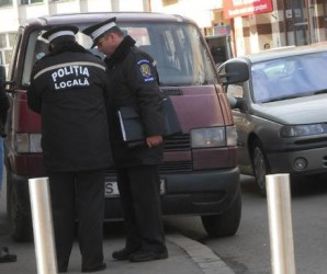 Şoferii şi cerşetorii, în topul sancţiunilor poliţiştilor locali