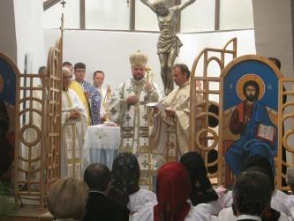 Hirotesire la biserica greco-catolică din Jibou