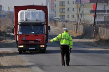 Transportul de mare tonaj nu este tras pe dreapta