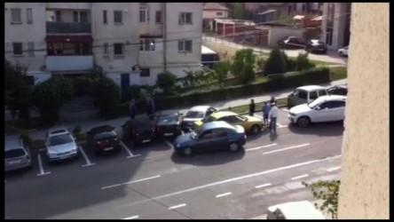 Cinci maşini avariate dintr-o lovitură