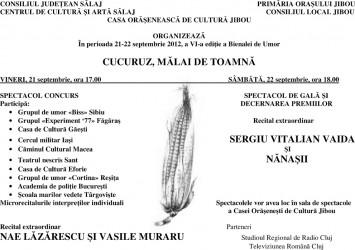 """Bienala de Umor """"Cucuruz, mălai de toamnă"""" de la Jibou – la a VI-a ediţie"""