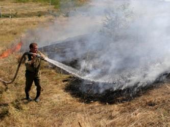 Incendiile de vegetaţie uscată se ţin lanţ în Sălaj