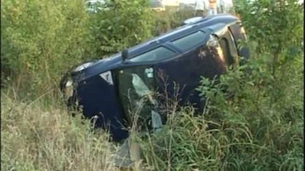 Accident din cauza vitezei excesive, lângă Moigrad