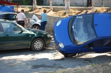 Accident neobişnuit la Sala Sporturilor