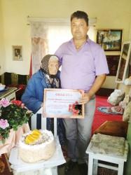 O femeie din Bilghezd a împlinit 101 ani