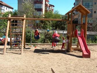 Parcurile de joacă din Zalău – reabilitate şi modernizate