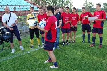 Rapid Jibou, lider după prima etapă din Liga a IV-a