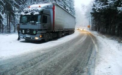 Trei drumuri naţionale din Sălaj riscă să fie închise la iarnă