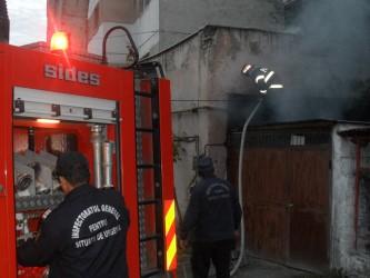 Incendiu la un punct termic din Zalău