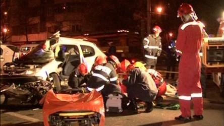 Două victime, încarcerate în urma unui accident în Sălăjeni