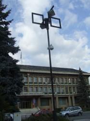 Şase parcuri şi Centrul Social de Urgenţă din Zalău  – supravegheate  de Big Brother