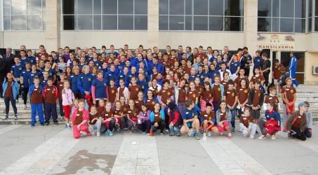 Număr redus de participanţi la Crosul Rotary