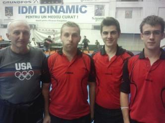 CSM Zalău – lider în Divizia A la tenis de masă