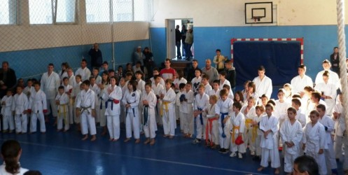 80 de karateka s-au duelat la Cupa Zalăului