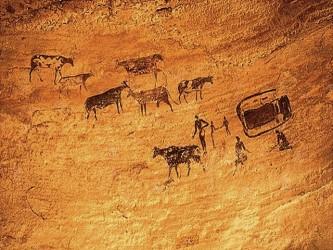 Opere de arta rupestră – prezentate la Zalău