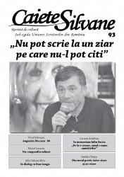 Un nou număr al revistei Caiete Silvane