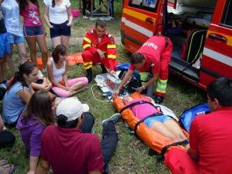 Pentru reducerea riscului dezastrelor naturale, pompierii sălăjeni deschid porţile unităţii