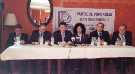 PP-DD Sălaj şi-a prezentat candidaţii la parlamentare