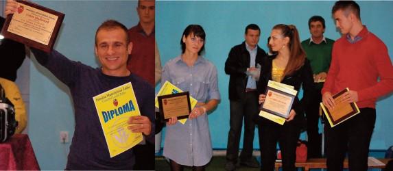 Cei mai buni sportivi ai judeţului, premiaţi la inaugurarea Sălii Sporturilor