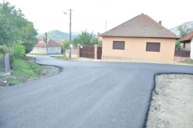 Drumuri asfaltate la Şimleu