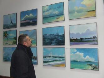 Pictură atribuită lui Grigorescu, expusă la Zalău