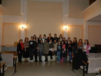 Diana Lavinia Pop, noul preşedinte la Consiliul Judeţean al Elevilor Sălaj