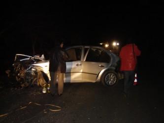 Accident în lanţ lângă Jibou