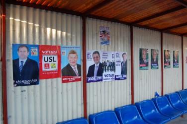 Campanie electorală paşnică în Sălaj