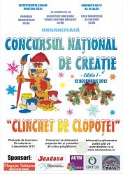 """Concursul National de Creatie """"CLINCHET DE CLOPOTEI"""""""