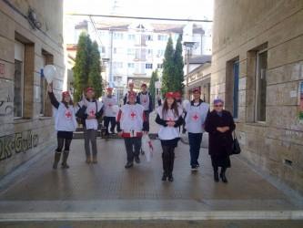 Voluntarii Crucii Roşii Sălaj – implicaţi în lupta anti-SIDA