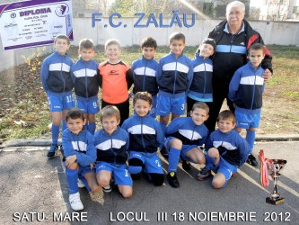 FC Zalău, locul trei la Satu Mare