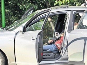 Zălăuan găsit mort în maşină
