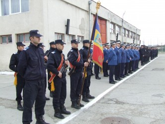 Jandarmii sălăjeni marchează Ziua Naţională
