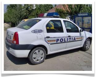 Poliţiştii, PP-DD şi bannerele distruse
