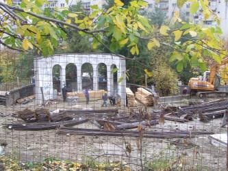 Sisteme de irigaţii în Parcul Central şi la Sala Sporturilor