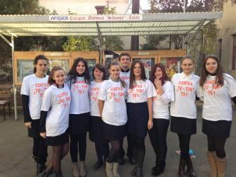 """Elevii luptă cu """"TU tun"""", împotriva consumului de tutun"""