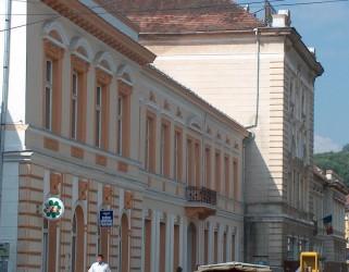 Pictura fostei săli de teatru din Clădirea Transilvania a fost restaurată